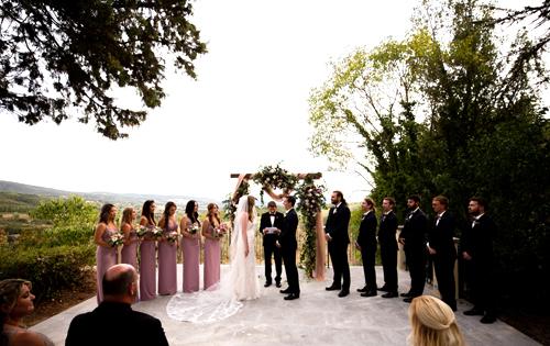 Symbolic wedding in Orvieto
